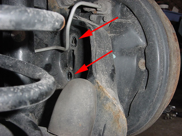 Replacing rear drum brake shoes - Focus Hacks